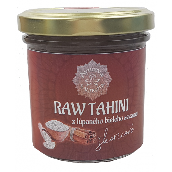 RAW Tahini škoricové 165ml