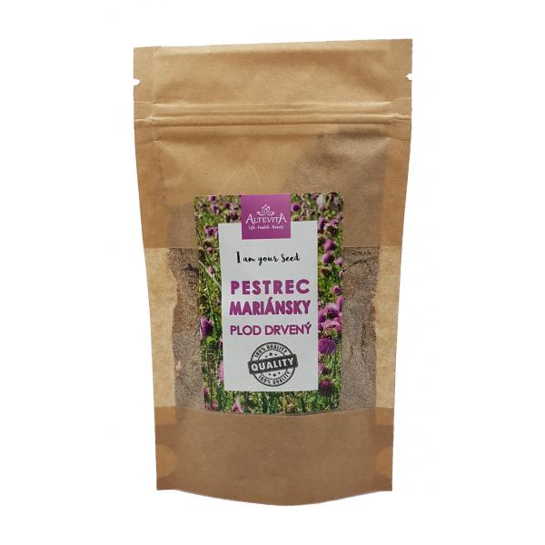 Altevita Pestrec mariánsky – plod drvený (jemný) 300g