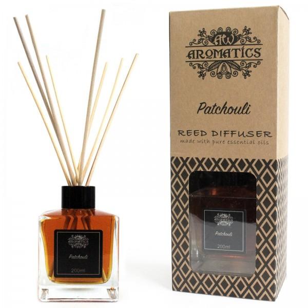 AW Aromatics Patčuli Esenciálny Olej Difuzér 200ml