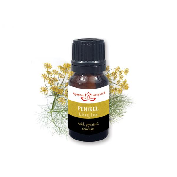 100% esenciálny olej FENNEL (fenikel) 10ml
