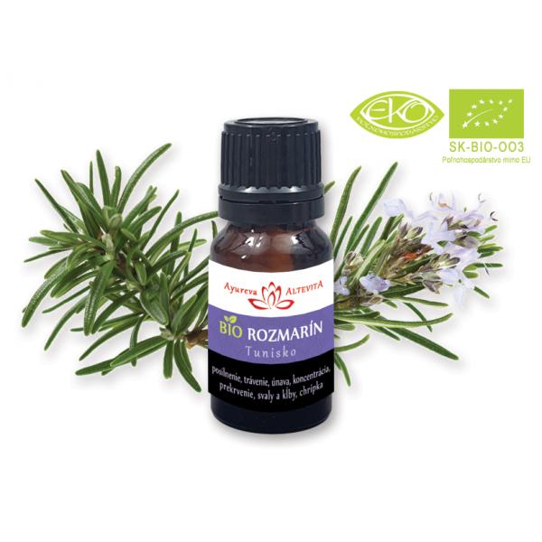 Rozmarín Bio Esenciálny Olej 10ml