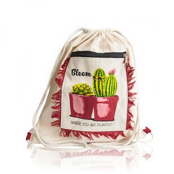 Vreckový Batoh - Kaktus