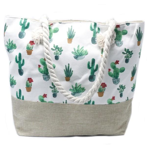 Plážová Taška - Mini Kaktus