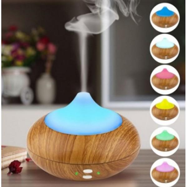 Aroma Difuzér Mini Wood 1ks + 2x zmes esenciálnych olejov