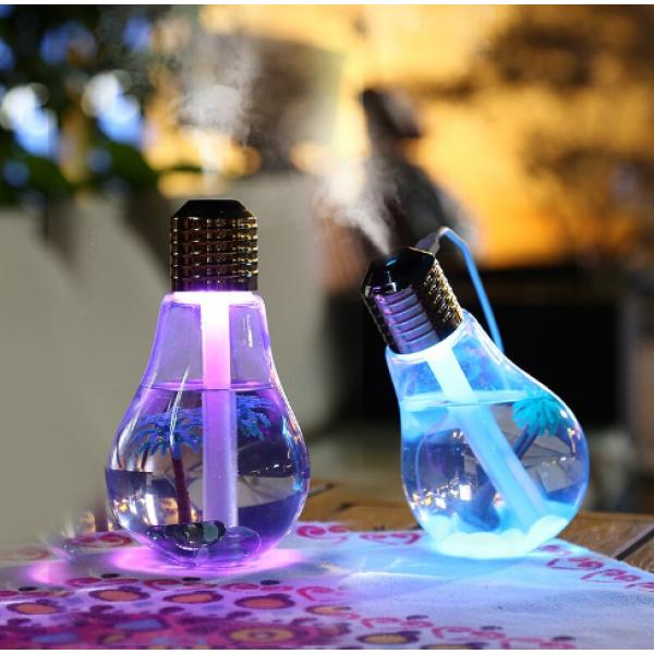 USB Aroma Difuzér 200ml žiarovka