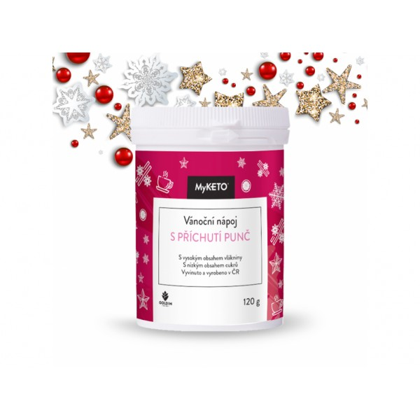 MyKETO Vianočný nápoj s príchuťou punč 120g