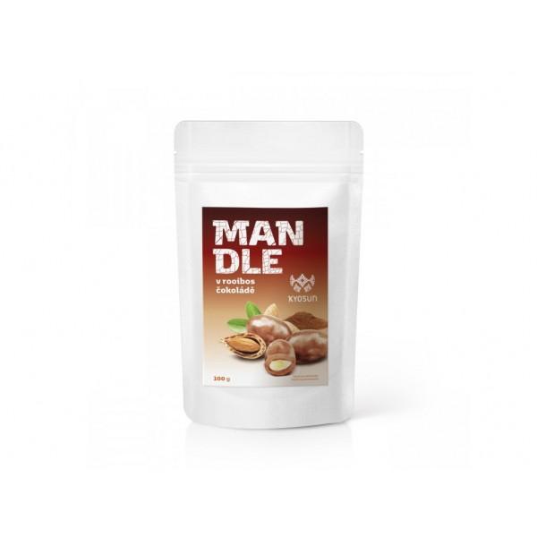 Kyosun Mandle v rooibos čokoládě 100 g