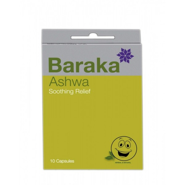Ashwa inhalačné kasule, 10 ks