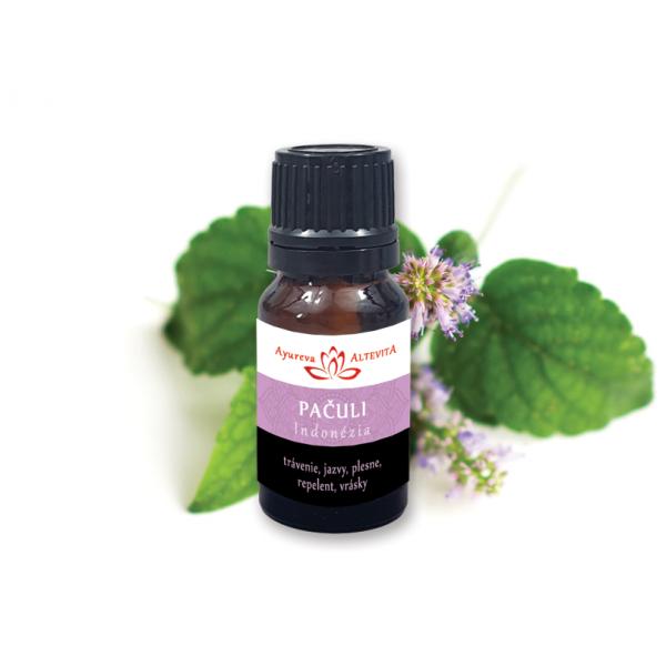 100% esenciálny olej PATCHOULI (Pačuli) 10ml