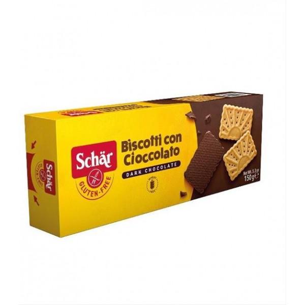 Sušienky polomáčané Biscotti con cioccolato 150g Schär