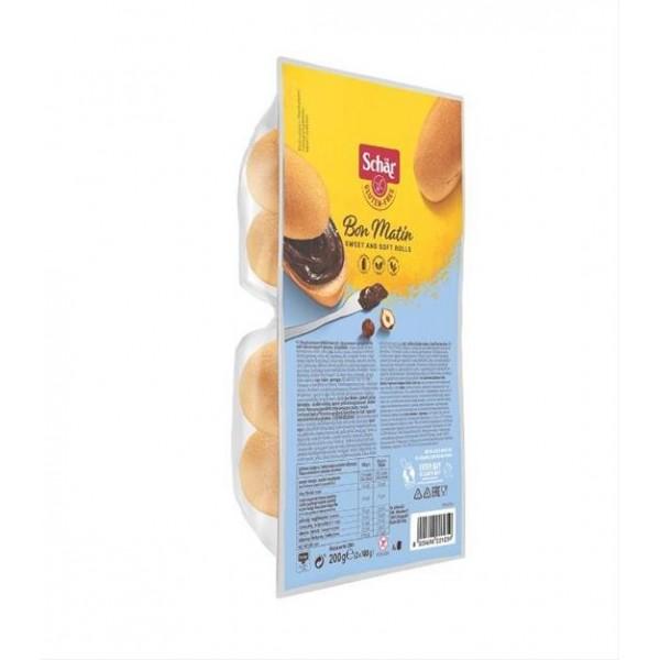 Pečivo sladké Bon Matin bezlepkové 4x50g Schär