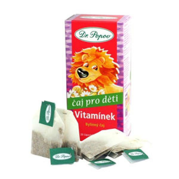Čaj porc. detský Vitamínek 30g