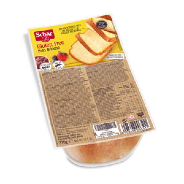 Chlieb Pain Brioché sladký bezgluténový 370g