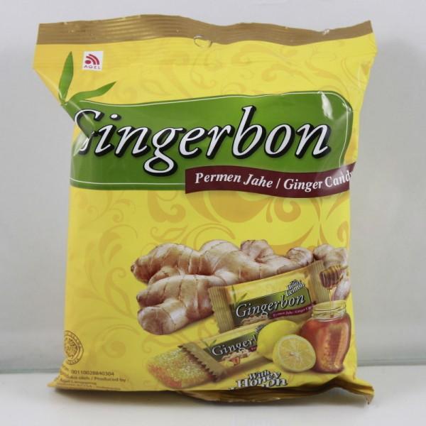 Cukríky zázvorové med a citrón 125g