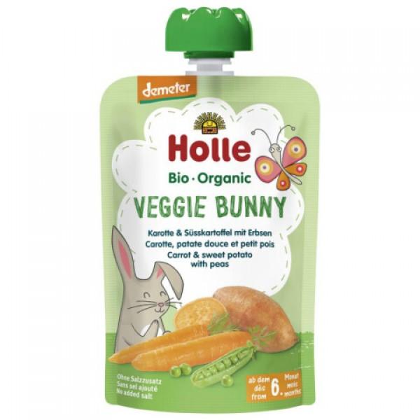 Pyré zeleninový zajko od 6 mes,,Holle Bio 100g