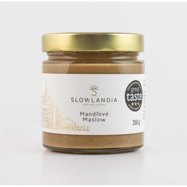 Mandľové maslow Slowlandia 350g