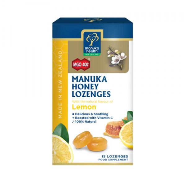 Cukríky Manuka MGO™ 400+ citrón 65g