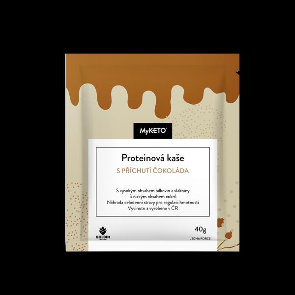 MyKETO proteínová kaša čokoládová 40g