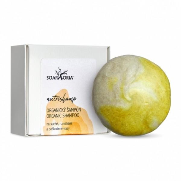 Nutrishamp - tuhý šampón na suché vlasy 60g