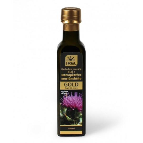Ostropestrec mariánsky olej GOLD 250ml
