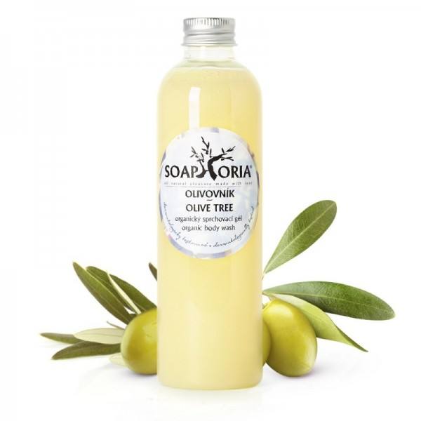 Olivovník - organický sprchovací gél 250ml