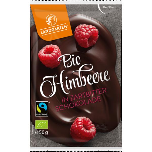 Maliny v čokoláde BIO 50g