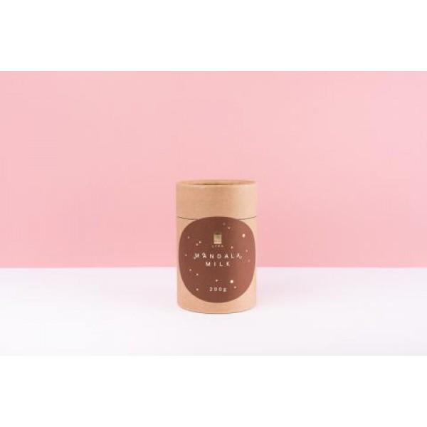 Čokoládové medailóny Mandala milk s posypom 200g