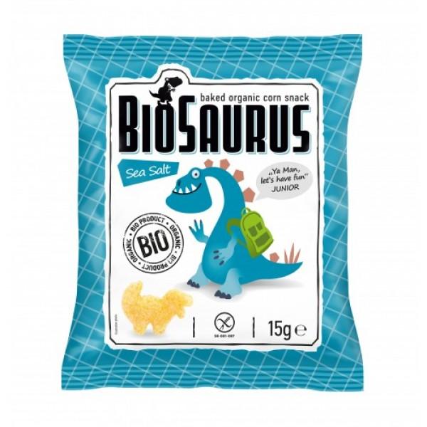 Biosaurus Junior morská soľ bezlepkové BIO 15g