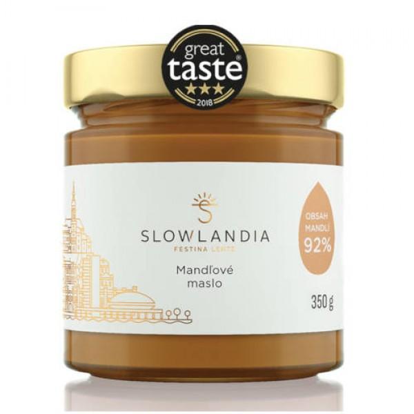 Mandľové maslo Slowlandia 350g