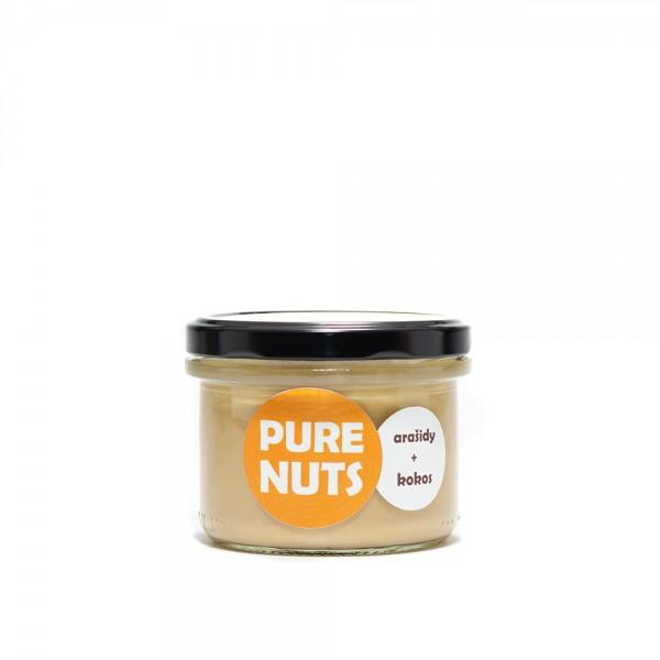 Pure Nuts arašidy + kokos 200g
