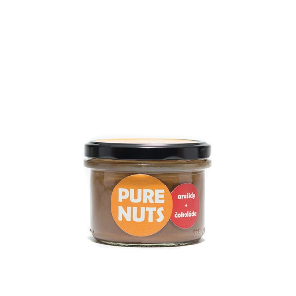 Pure Nuts arašidy + čokoláda 200g