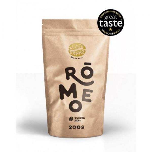 Zrnková káva Rómeo 200g