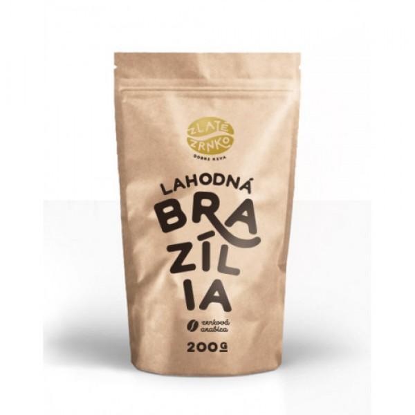 Zrnková káva arabika Brazília 200g