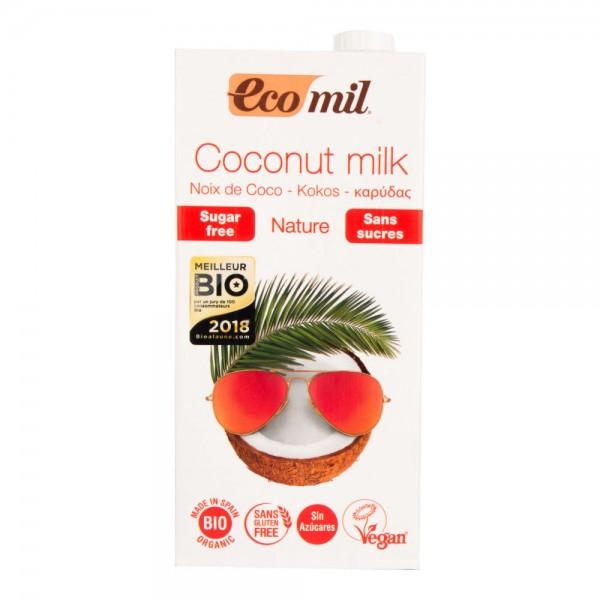 Kokosový nápoj bez cukru BIO 1L