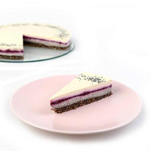 RAW torta Maková torta na objednávku.
