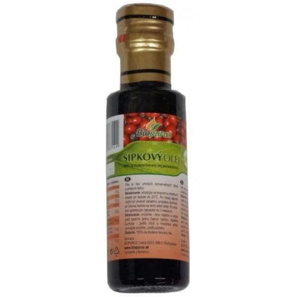 Olej šípkový BIO 100ml Biopurus