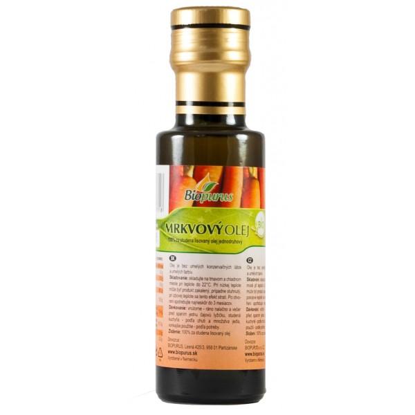Olej mrkvový BIO 100ml Biopurus