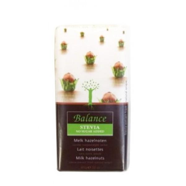 Mliečna čokoláda s orieškami 85g Balance
