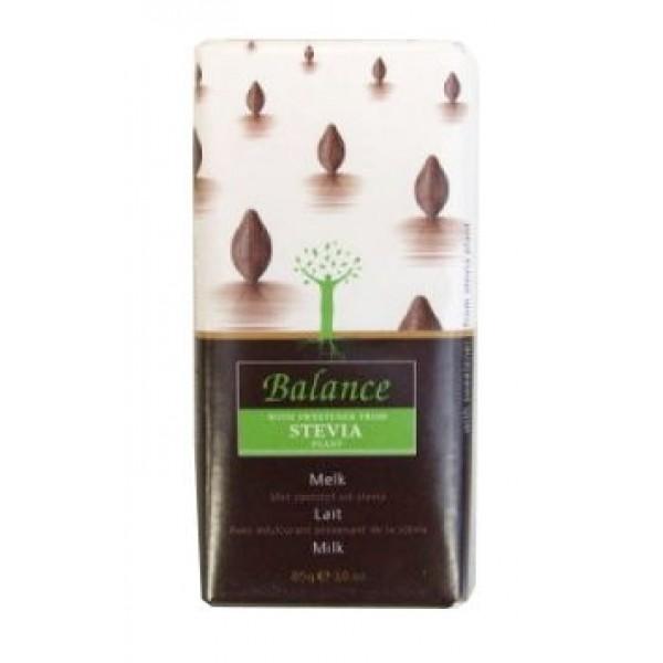 Čokoláda mliečna STEVIA bez cukru 85g Balance