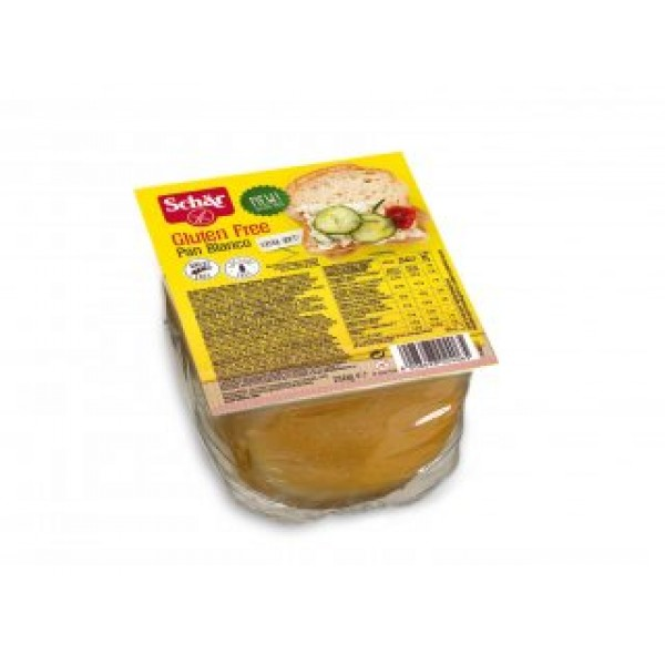 Biely chlieb Pan Blanco krájaný 250g Schar