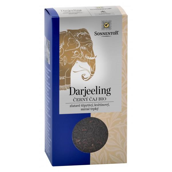 Čierny sypaný čaj Darjeeling BIO 100g Sonnentor