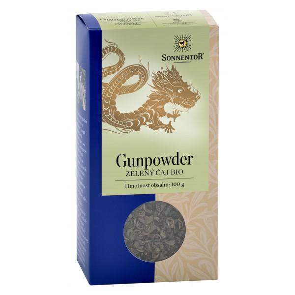 Sypaný zelený čaj Gunpowder BIO 100g Sonnentor