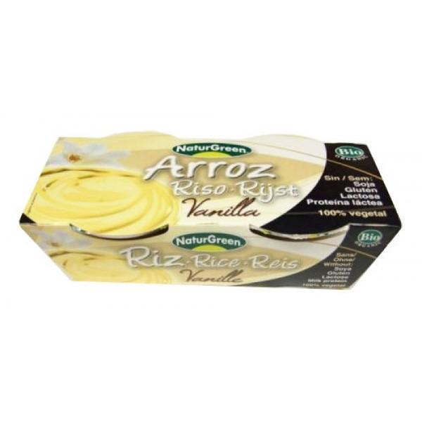 Dezert ryžový s vanilkou  BIO 2x125g NaturGreen