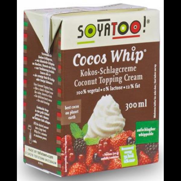 Kokosová smotana na šľahanie 300ml