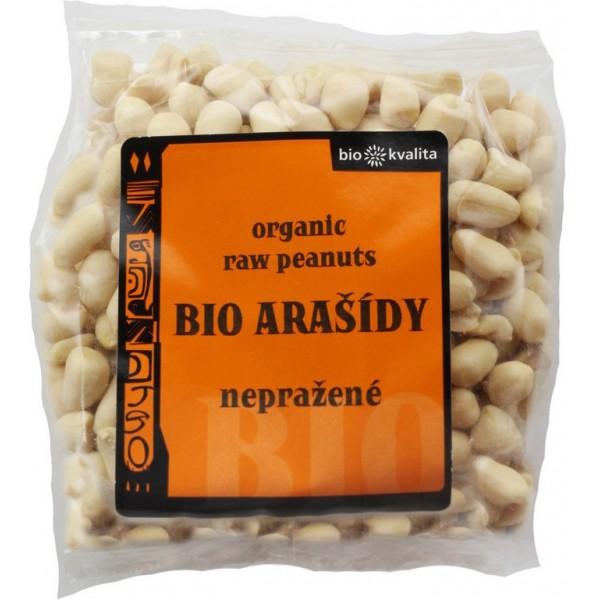 Arašidy lúpané nepražené BIO 200g Bio kvalita