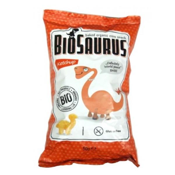 Biosaurus Babe kečup bezlepkové BIO 50g