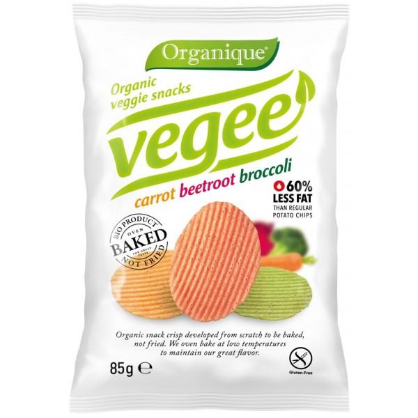 Zemiakový snack Vegee BIO 85g