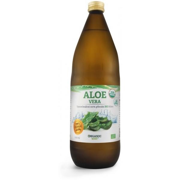 Aloe vera šťava premium 99,7 % 1L