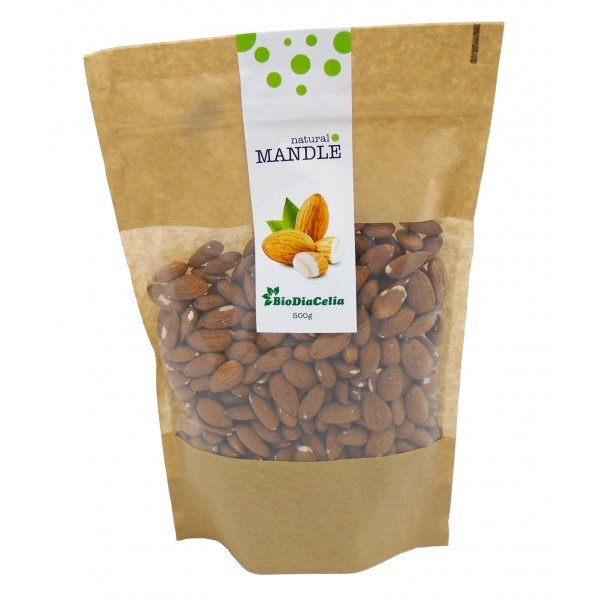 Mandle natural Biodiacelia 500g