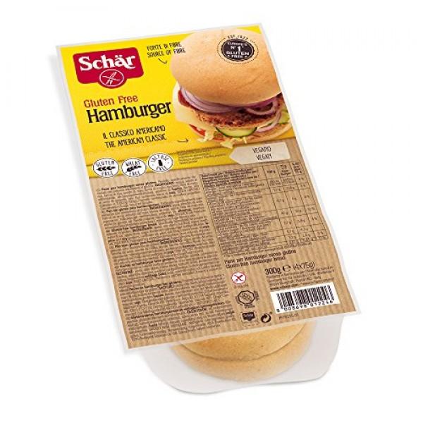 Žemle panini hamburgerové bezlepkové 4x75g